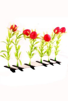 Berrys Hair Clip Set of 6 (Red)
