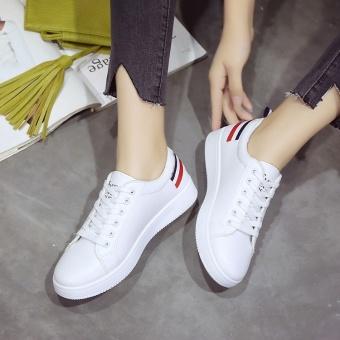 BIGCAT women flat shoes sports sneakers running shoes white - intl - 4