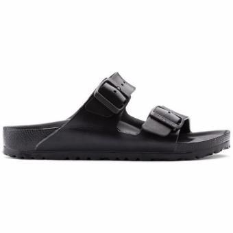 Birkenstock Arizona Essentials Eva Flat Slippers (Black) - 3