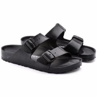 Birkenstock Arizona Essentials Eva Flat Slippers (Black) - 2