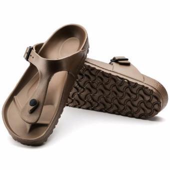 Birkenstock Gizeh Eva Flat Slippers (Copper) - 3