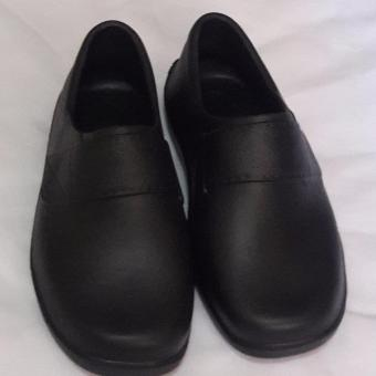 Black Shoes for Kids Water Proof Light Weight No need to shine size 34'