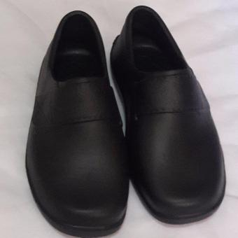 Black Shoes for Kids Water Proof Light Weight No need to shine size32'