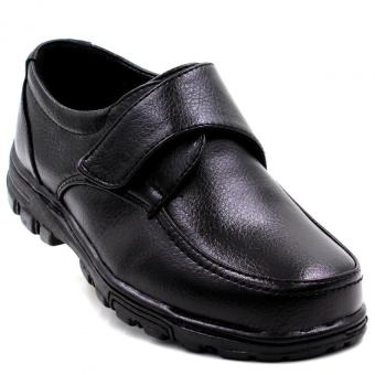 Black Tag 921-1 Leather Shoes for Boys (Black)
