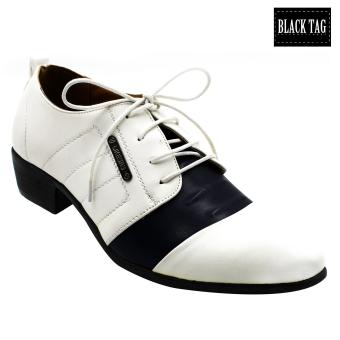 Black Tag Barclay 9310-1 250 Formal Leather Shoes for Men (White)