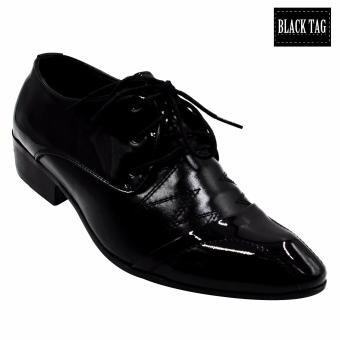 Black Tag Baron 8916 Formal Leather Shoes for Men (Black) Price Philippines