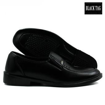 Black Tag Brando 10D4 Low-Cut Formal Shoes for Men (Black) - 3