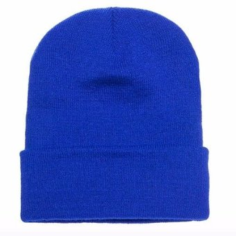BLKSHP Cuffed Knit Beanie Cap (Royal) Price Philippines