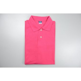 Blue Corner Men's Plain Polo Shirt (Pink)