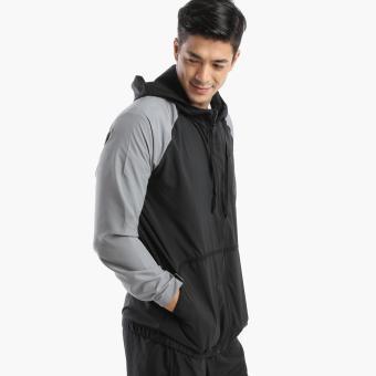 Bo Athletics Mens Running Jacket (Grey)