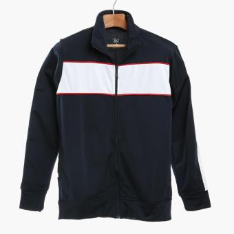 Bo Athletics Mens Track Jacket (Navy Blue)