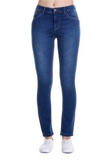 Bobson Women's Regular Waist Pants (Indigo)
