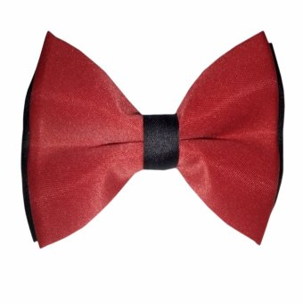 Bow Tie 2Tone Gift Set(Red Black) Price Philippines