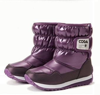 Boys & Girls Boots,Waterproof High Quality Winter Shoes,WinterChill-Proof Kids Snow Botas - intl Price Philippines