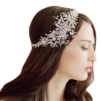 Bride Crystal Headdress Headbands Wedding Jewelry Price Philippines