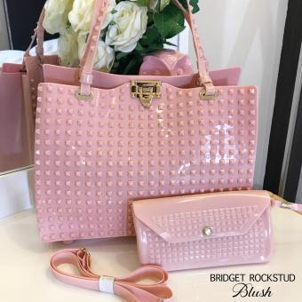 Bridget Rockstud with Wallet Super Sale (Blush)