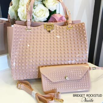 Bridget Rockstud with Wallet Super Sale (Nude)