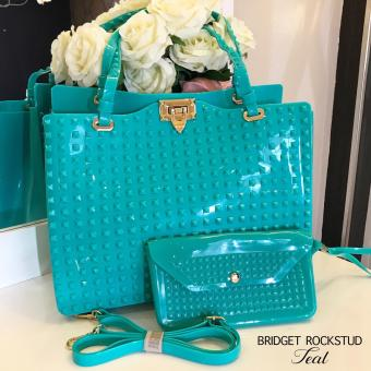 Bridget Rockstud with Wallet Super Sale (Teal)