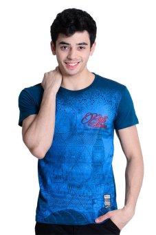 Brit London Roundneck T-Shirt (Onion Blue)