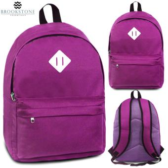 Brookstone Dionne Mccue Lash Tab Casual Backpack (Purple)