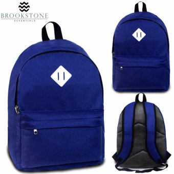 Brookstone Dionne Mccue Lash Tab Daypack Backpack (Royal Blue)