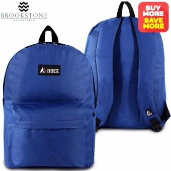 Brookstone Everest Casual Backpack (Blue)