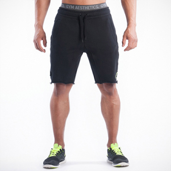 Brother muscle fitness dog shorts (Black)
