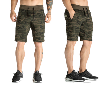 Brother muscle fitness I shorts (Army camouflage)