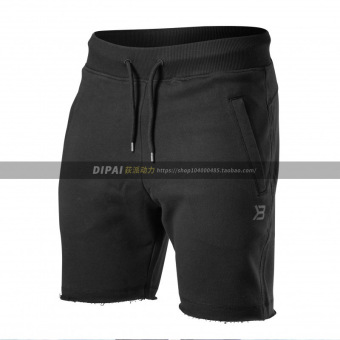 Brother muscle fitness training running I shorts (Black)