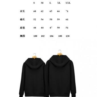BTS(Bangtan Boys) Hoody Cardigans Sweaters Hoodies Pullover (Black) - 2