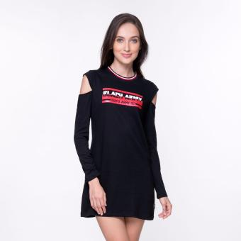 Bum Ladies Black Army Dress (Black)