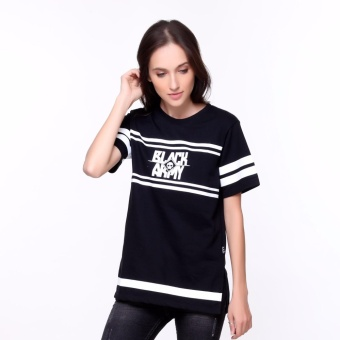 Bum Ladies Black Army Long Tee (Black)