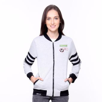 Bum Ladies Bomber Jacket (Acid Grey)
