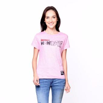 Bum Ladies Weekdays Tee (Pink)