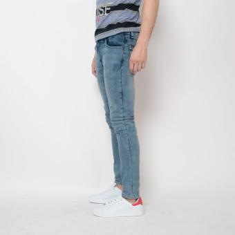 Bum Men's Fashion Denim Pants (Indigo ) - 2