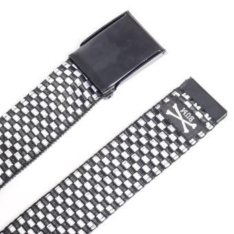 Bum Men's Buckle Belt (Black) - 3