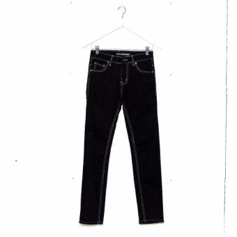 Bum Men's Modified Basic Denim Pants (Black)