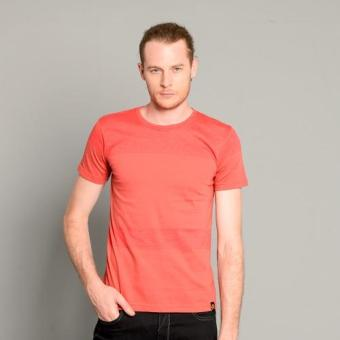 BUM Men's Strippers Tee (Red Bright Rose)