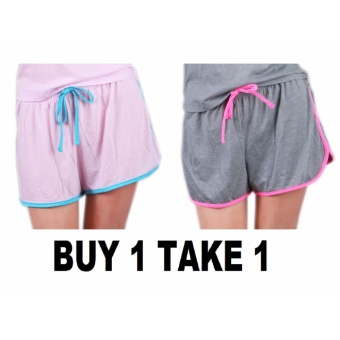 BUY 1 TAKE 1 Outperformer Cotton Rich Shorts with Drawstring