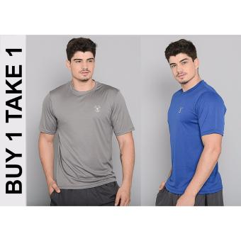 BUY 1 TAKE 1 Outperformer Men's Active Round Neck Shirt with ExtraStretch and Dryperform Technology