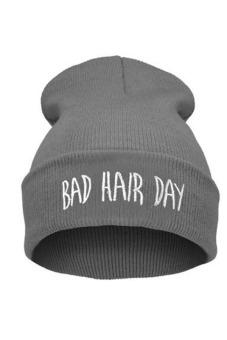 Buytra Casual Women's Cap Warm Beanie Knit Grey