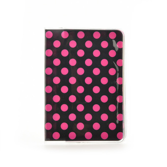 Buytra Passport Holder PVC Polka Dot - picture 2