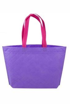 Buytra Shopping Bag Eco Travel Reusable Bags (Purple)