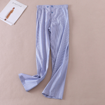 C475 Korean-style female autumn thin casual pants high-waisted wide leg pants