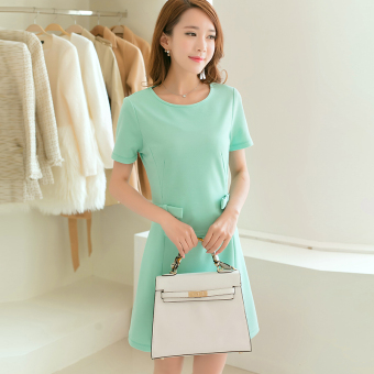 Caidaifei Shishang spring and summer New style elegant knitted dress