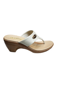 Camino White Strap Heels Sandals - picture 2