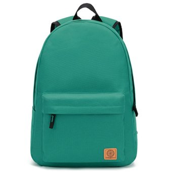 Canvas Lady's Backpack Fashion Nylon Travel Back Bag Korean FemaleCollege Student Leisure Back Pack (Green / Small Size) Price Philippines