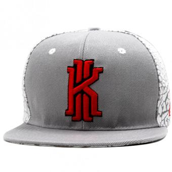 Cap City Hip-hop Snapback KYLIRVNG Pattern Baseball Cap (Gray)