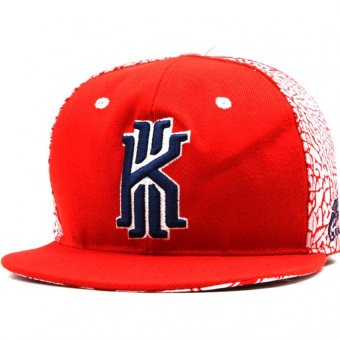 Cap City Hip-hop Snapback KYLIRVNG Pattern Baseball Cap (Red)