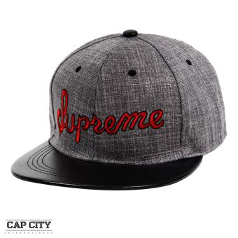 Cap City Hip Hop SUPREME Embroidery Snapback Cap (Red) Price Philippines
